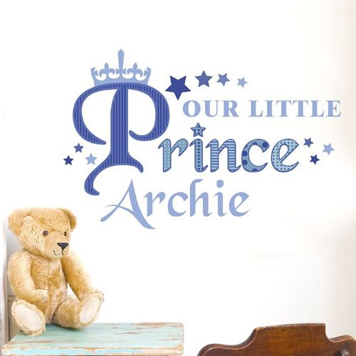 Our Little Prince Wall Art